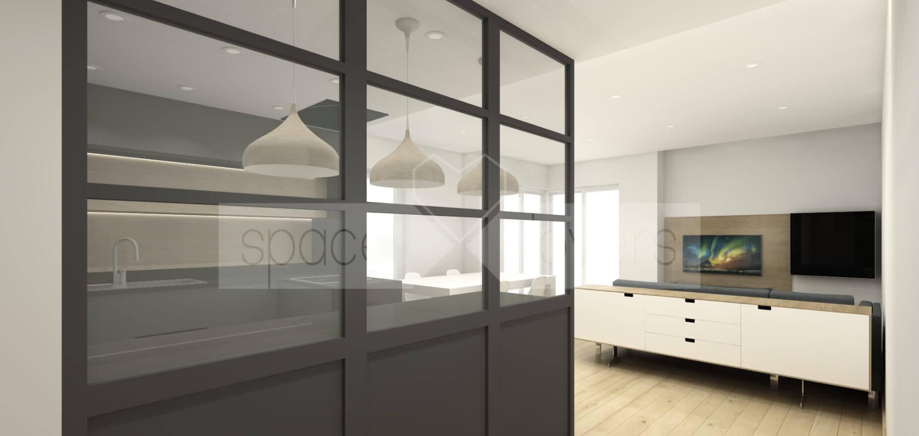 remodelacao-apartamento-parque-das-nacoes-lisboa-cozinha-industrial-sala-hall